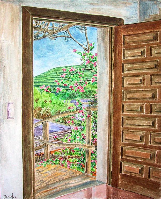 Puerta abierta daniel formigo - Pintura para puertas ...