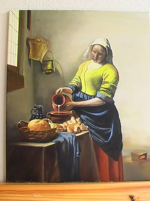 La lechera de vermeer blanca pueyo - La lechera de vermeer ...