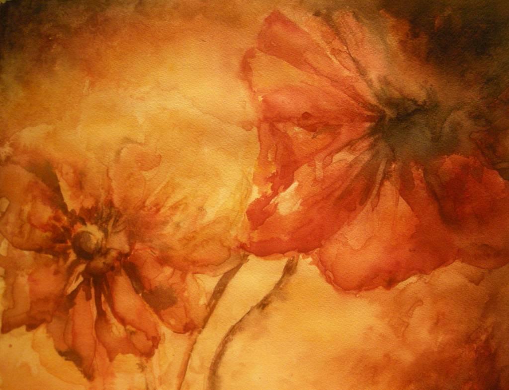 Flores m angeles molinero sisam n - Pinturas acrilicas modernas ...