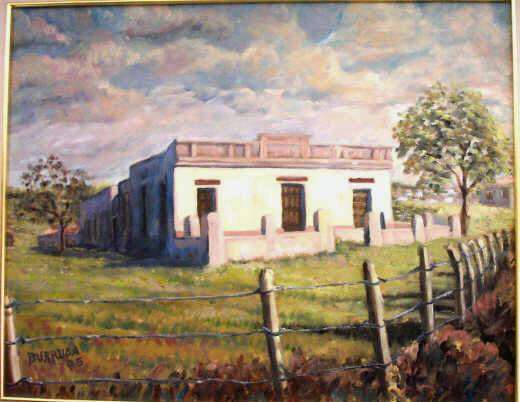 Casa de campo ruben dario burschtin for Pinturas para casas de campo