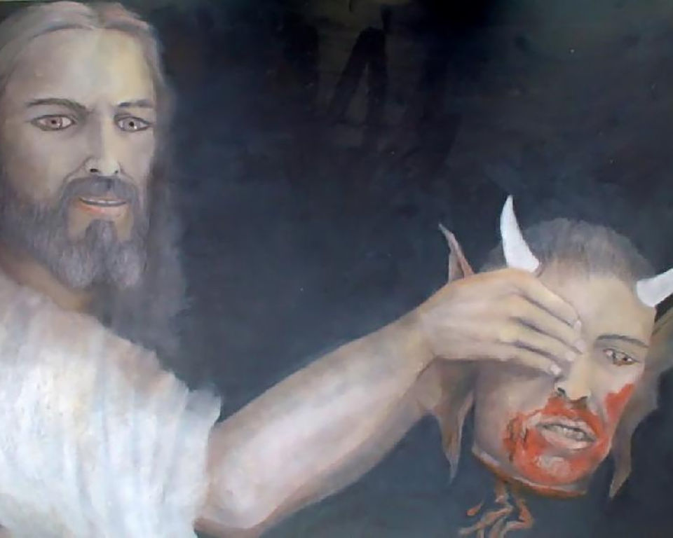 The Devil's Death;The most famous painting in the world ...
