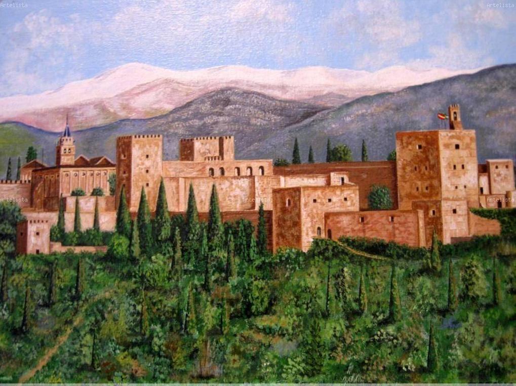 Alhambra de granada juan arroyo - Pinturas arenas granada ...
