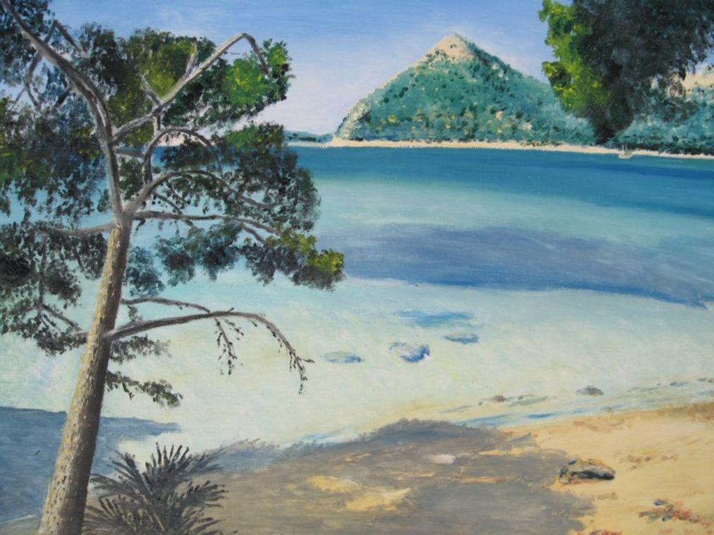 Playa de Formentor Wibo Sefeld - Artelista.com