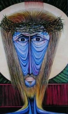 Obra de arte del pintor dominicano Alberto Lestrad