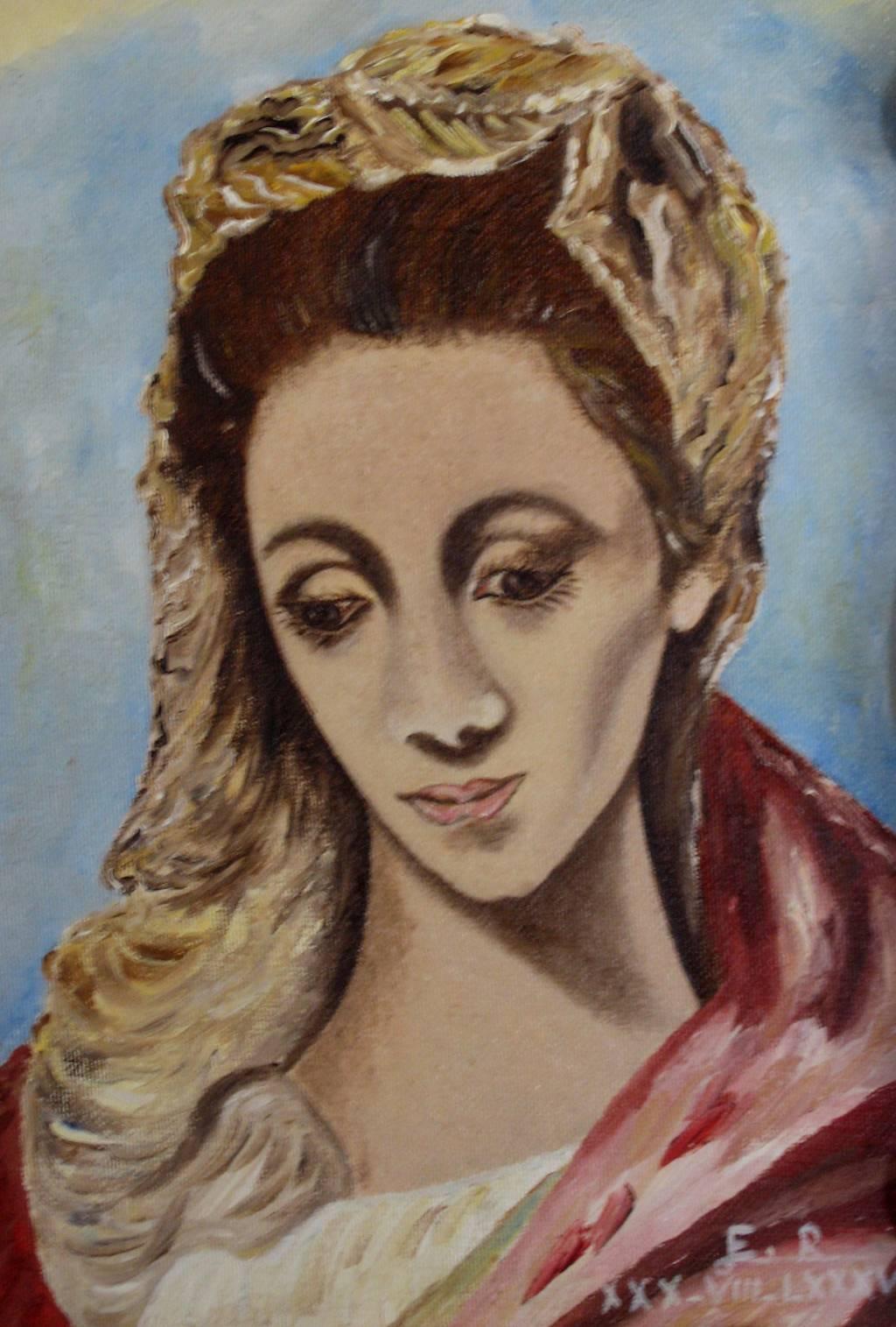 Virgen María Eduardo Rosado Marcos - Artelista.com