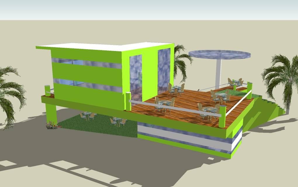 Proyecto restaurante vista posterior nora carrizo for Proyecto restaurante pdf