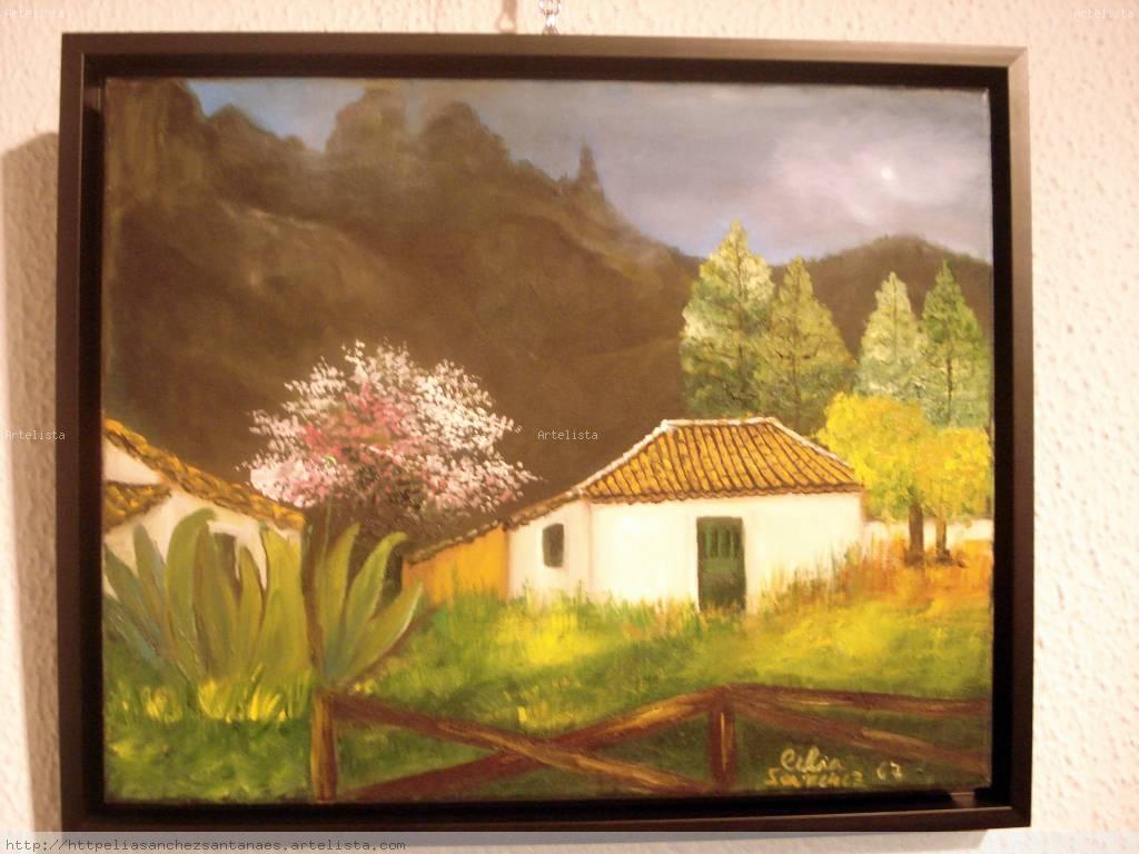 Casa t pica en gran canaria celia s nchez santana - Casas de madera en gran canaria ...