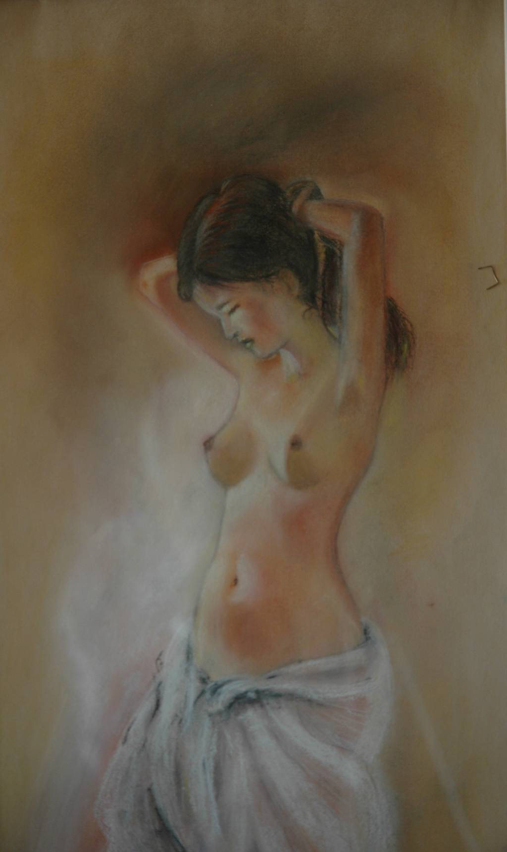 Joven desnuda sentada - Obra - ARTEHISTORIA V2