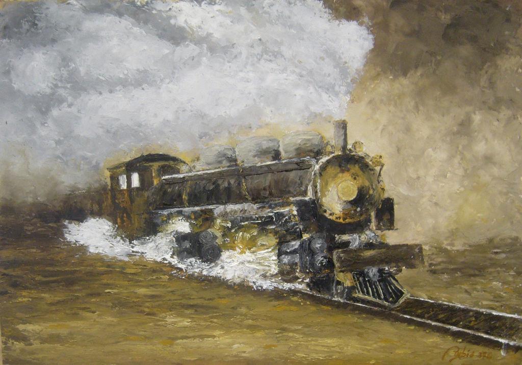 Resultado de imagen para vieja locomotora