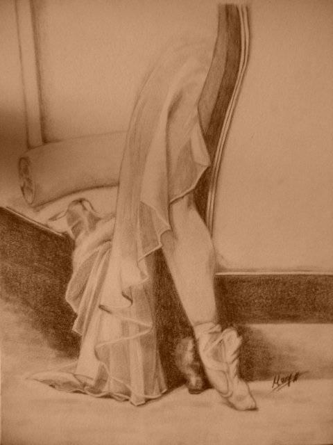 Pies De Bailarina Posando Ii Mª Isabel Garcia Artelistacom