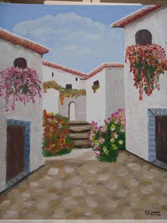 Pueblo Andaluz Mary Nieves Lorenzo Artelista Com