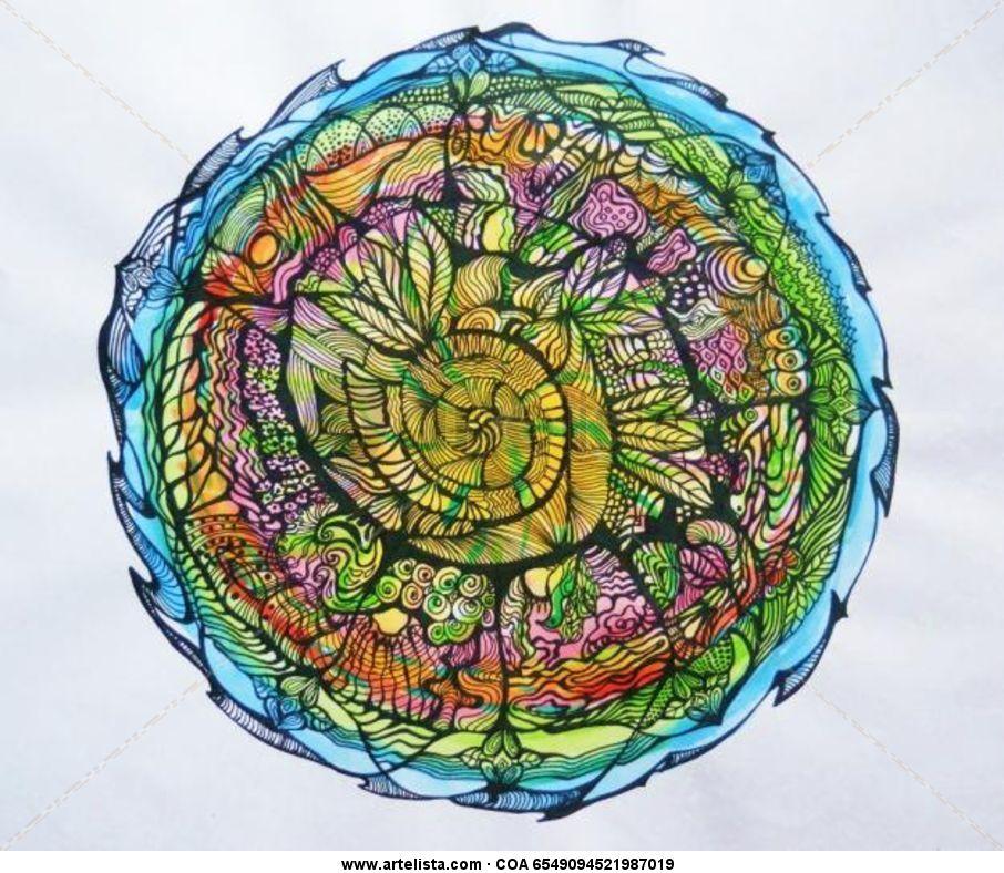 Mandala Zendala Origen María Cecilia Rodríguez Artelistacom