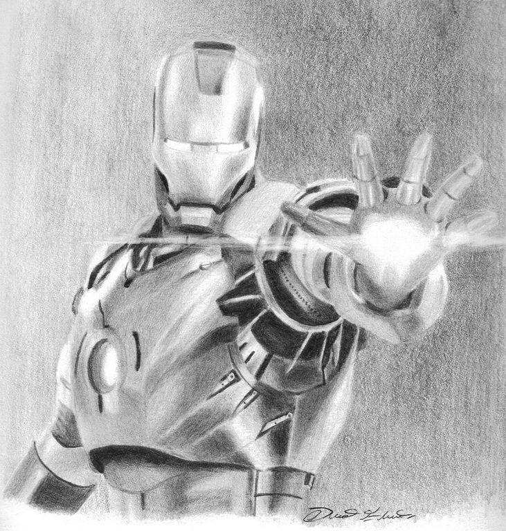 Iron Man David Eduardo Artelistacom