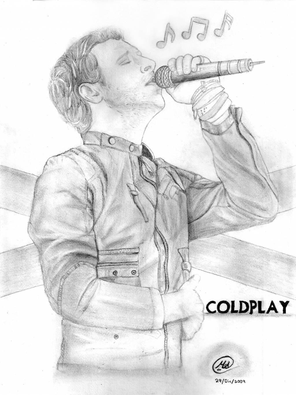 Chris MartinVocalista de Coldplay Manuel A Ceballos  Artelista