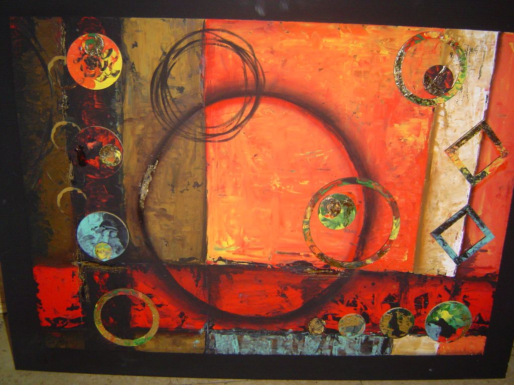 Abstracto figuras marina dini for Imagenes de cuadros abstractos faciles