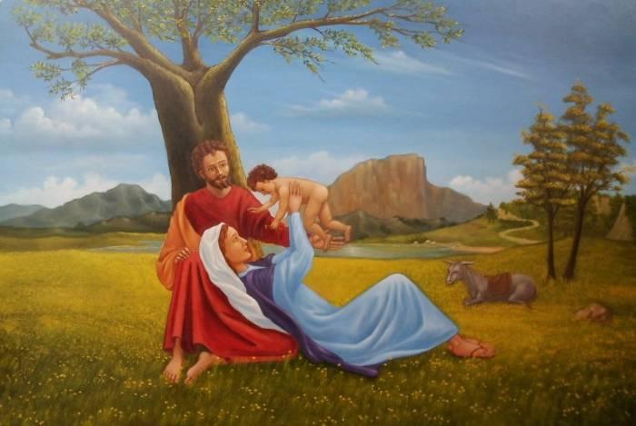 Sagrada Familia Miguel Angel Guerra Lopez Artelista Com