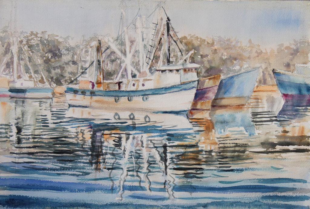 Barcos estuardo ciro del angel valdes for Imagenes de cuadros abstractos para colorear