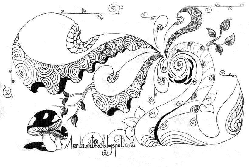 Hongos Dibujos