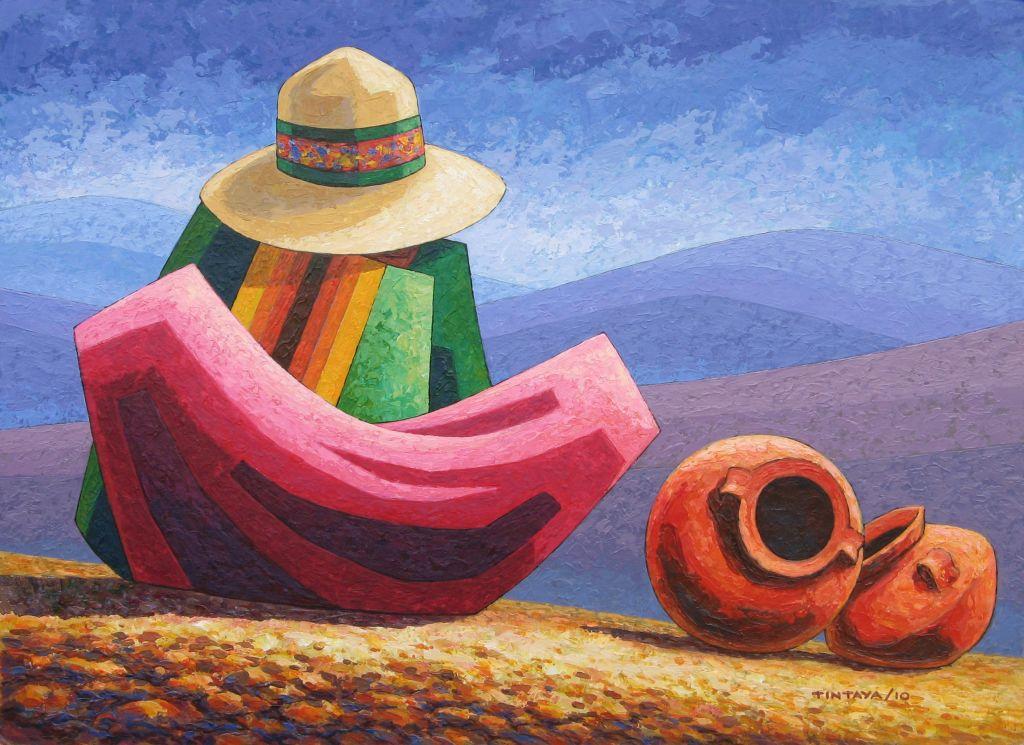 Larga espera 2 oscar tintaya for Pinterest obras de arte