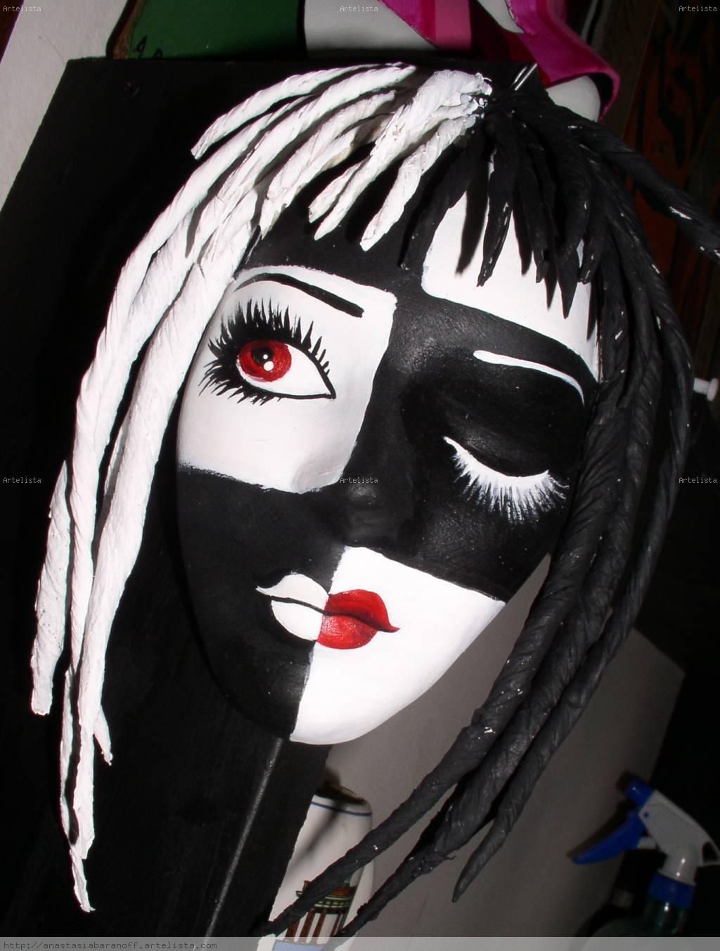 Blanco y negro anastasia baranoff - Blanco y negro paint ...