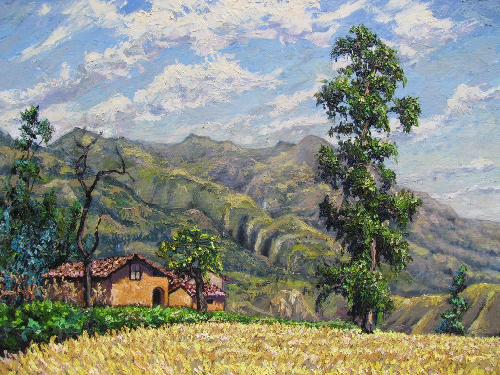 Cajabamba. Valle de Condebamba
