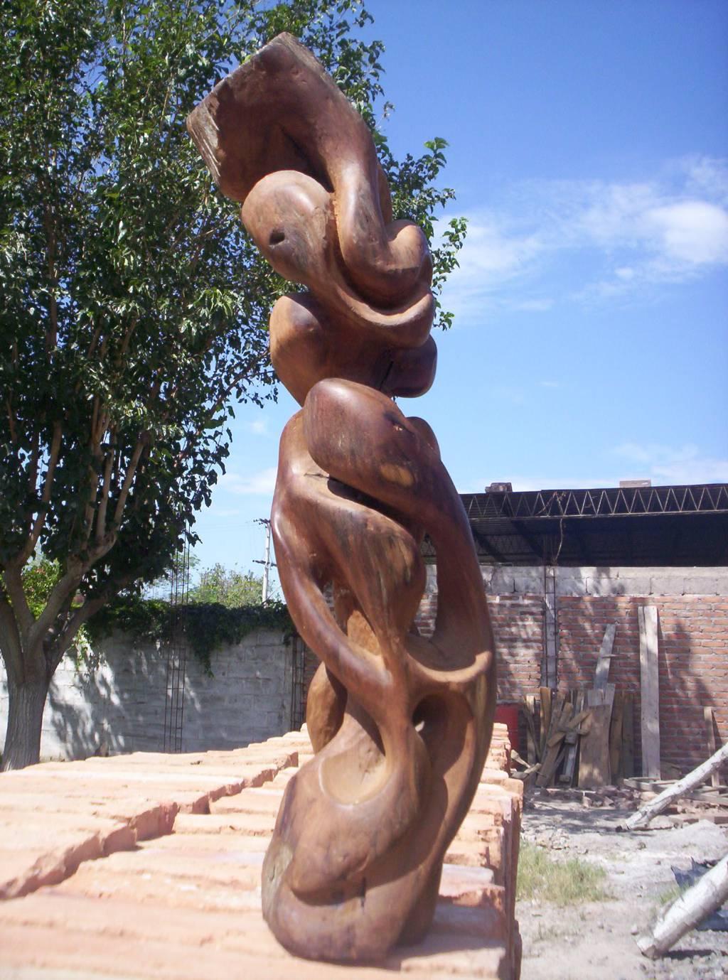 abstraccion de mis manos madera abstracta