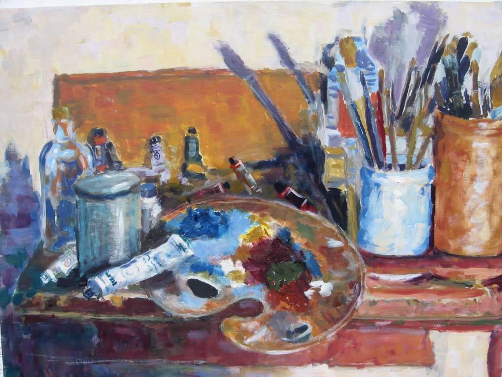 Materiales de un pintor imagui - Materiales de pintura de pared ...