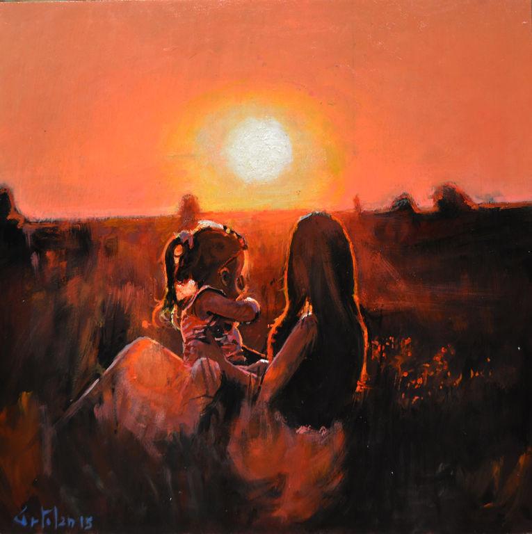 Madre e Hija Marco Ortolan - Artelista.com