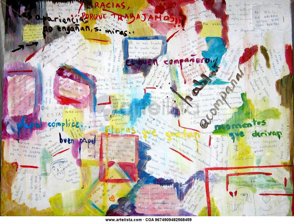 Collage de la amistad yolanda lopez alonso for Mural de fotos en cartulina