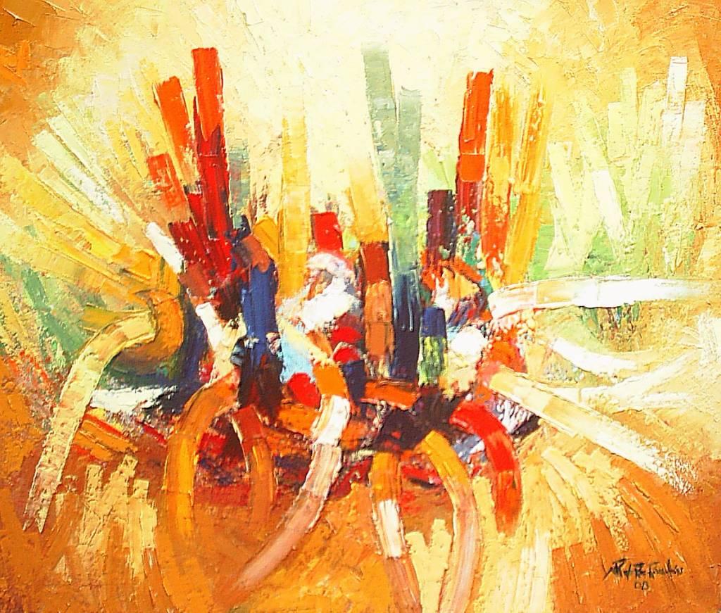 Galeria Pinturas De Arte: Algarabia De Color WYLLY Rondon