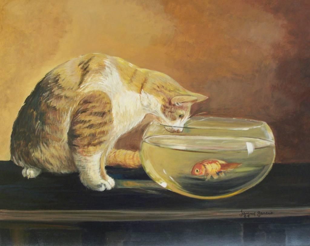 Instinto felino janny garcia liranzo - Pintura instinto ...