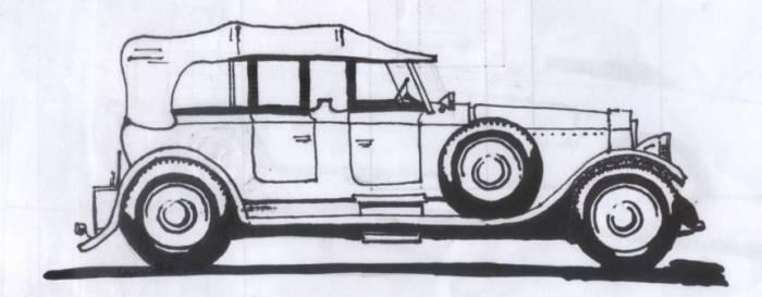Rolls Royce 1927 Francisco Porras Artelista Com