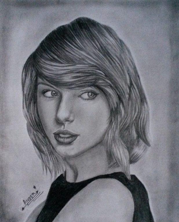 Retrato Taylor Swift Anderson Serrano Artelistacom