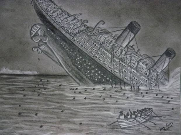 JULIAN FRBS - Dibujos del titanic