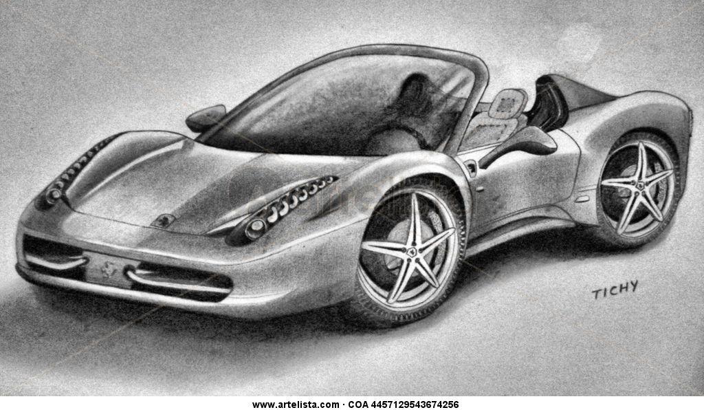Ferrari Spider Juan Tichy Artelista Com