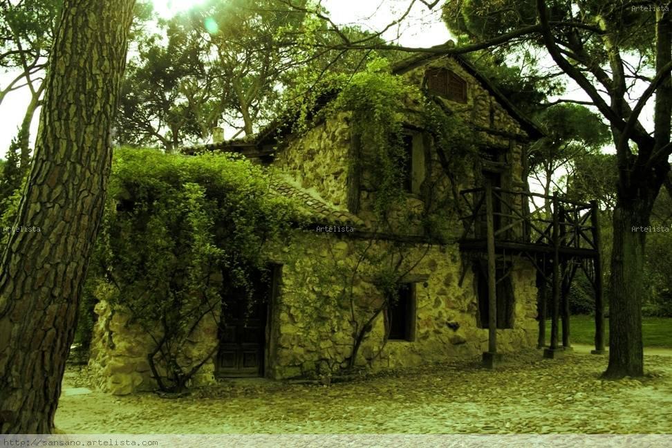 La casa en el bosque only sansano - Casitas en el bosque ...