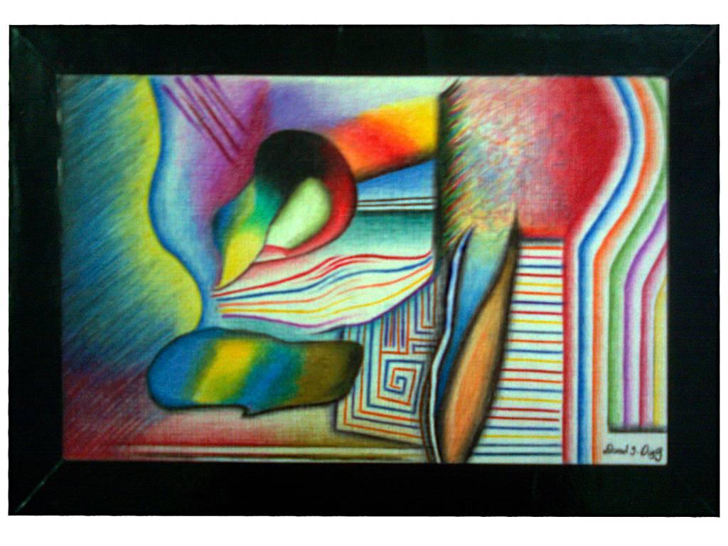 Arte abstracto daniel e d az g for Pinterest obras de arte