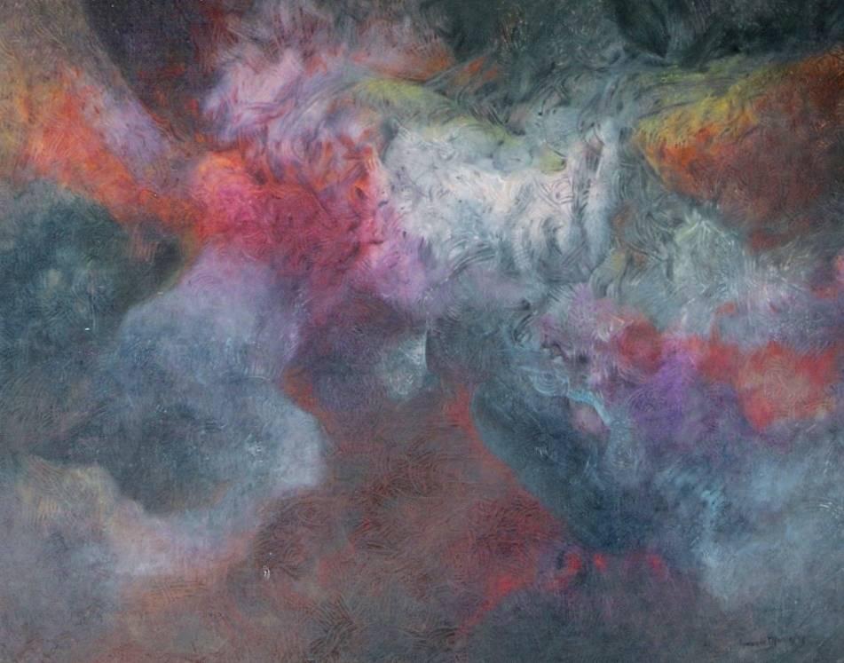 Abstracto 2 ignacio monje pintor colombiano for Pintor y muralista colombiano