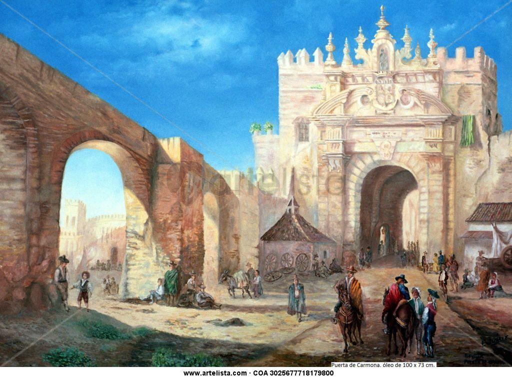 Sevilla de ayer puerta de carmona eduardo ju rez v zquez - Puerta de sevilla carmona ...