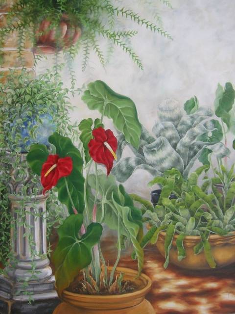 Jardin de anturios yuki hayashi for Jardines de anturios