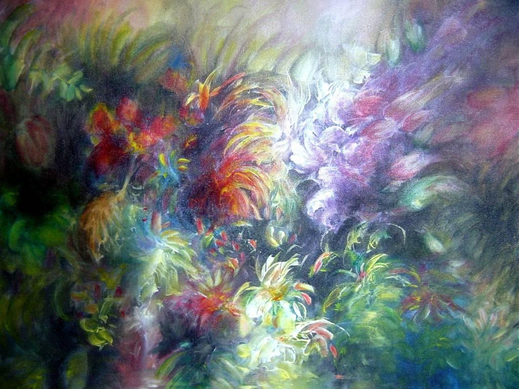 La vida en el estanque 1 carlos alberto orrea fernandez for Pintura para estanques