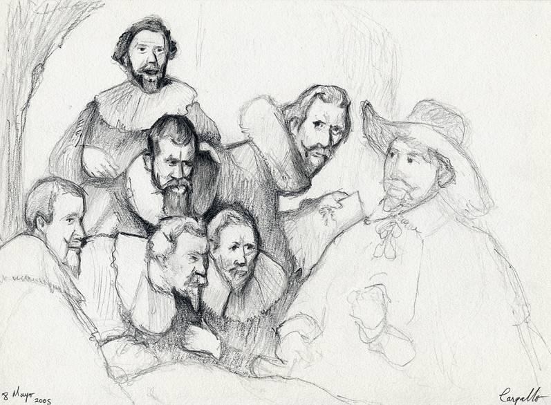 La lección de anatomía del Doctor Tulp de Rembrandt Joseba Gonzalez ...