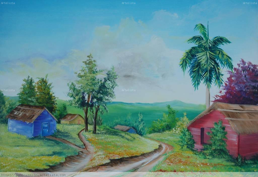 Casas en el campo jose martin cruz pion - Paisajes de casas de campo ...