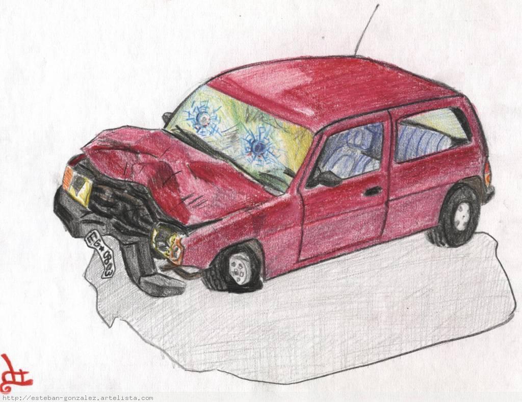 Cambio auto chocado por silla de rueda esteban alberto