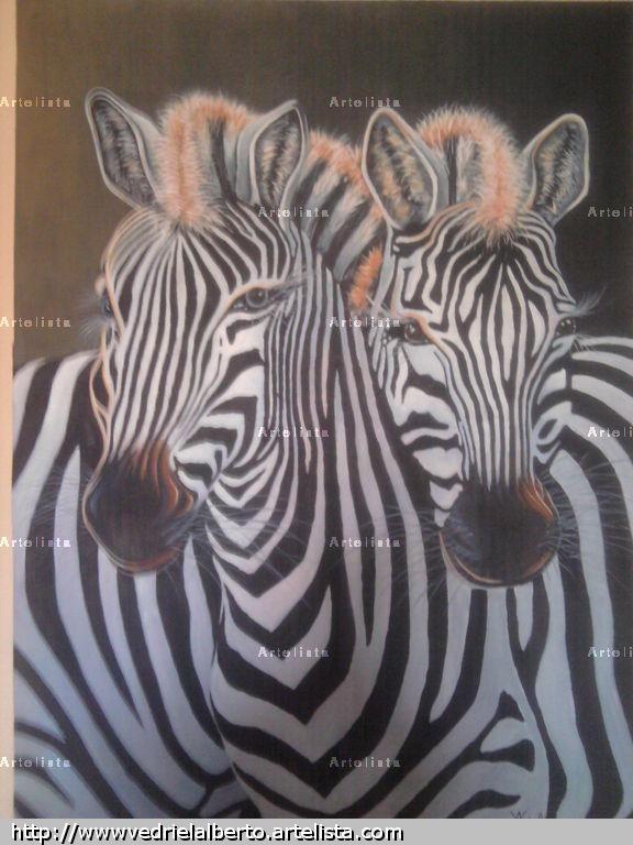 Cebras alberto vedriel jimenez - Cuadros de cebras ...