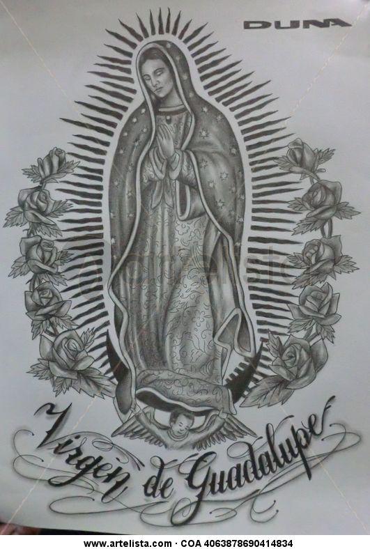Virgen De Guadalupe Duna Arte Denny Lopez Artelistacom