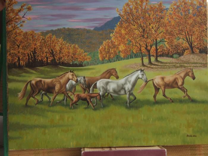 Caballos en el valle antonio guti rrez de la rosa - El valle de los caballos ...