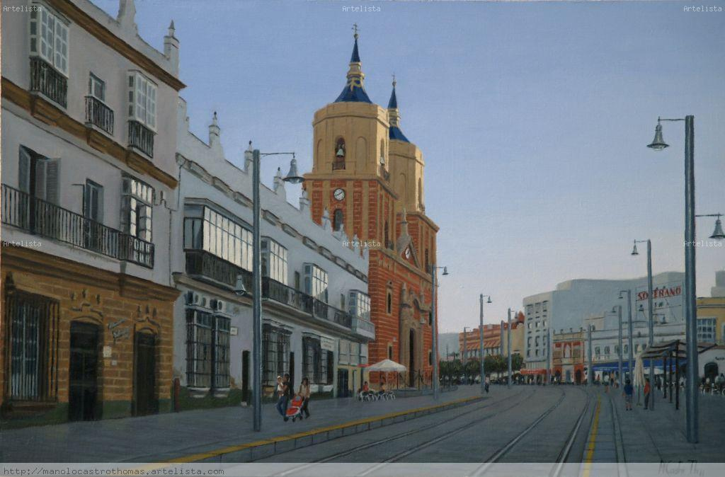 Artesanato Zen ~ CALLE REAL IGLESIA MAYOR DE SAN FERNANDO (CADIZ) Manolo Castro Thomas Artelista com