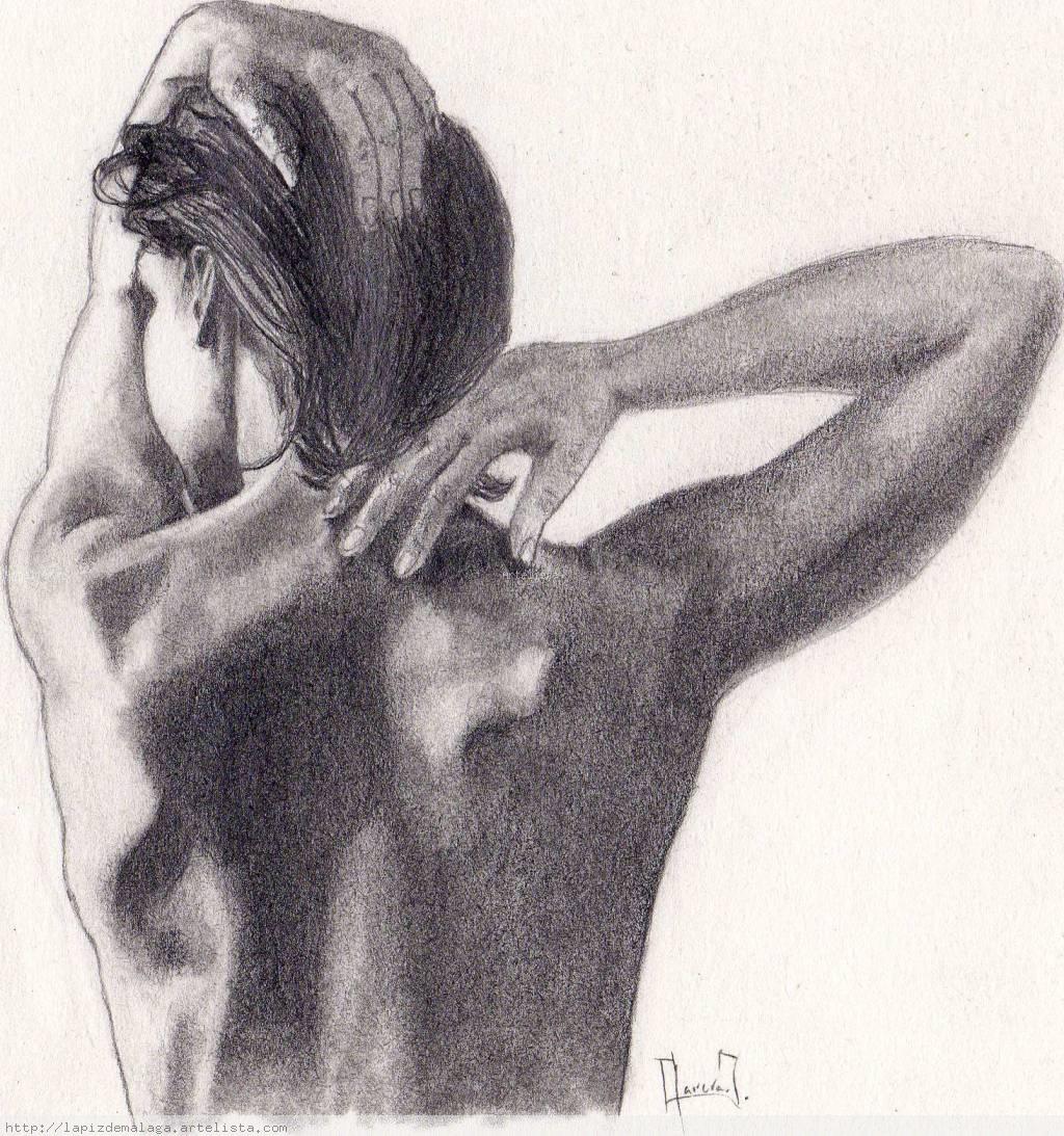 Espalda De Mujer Juan Carrera Avilés Artelistacom