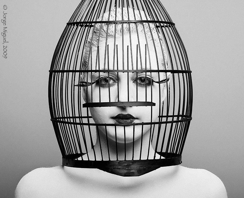Don 39 t speak jorge miguel blazquez for Imagenes de cuadros abstractos en blanco y negro